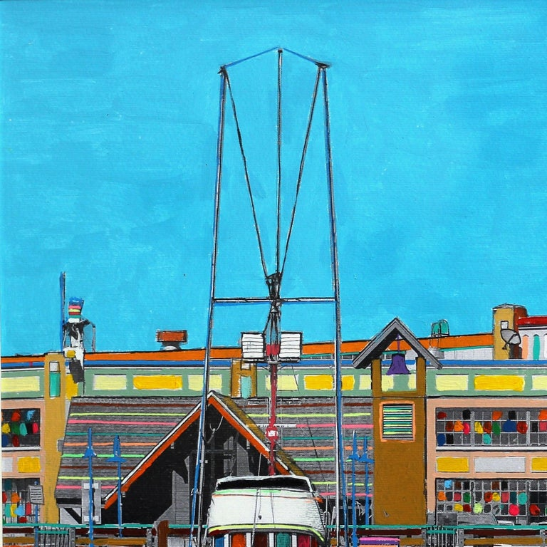 Fabio Coruzzi merges painting and photography into one imaginative image that offers a new outlook on an otherwise ordinary urban scene. His artworks represent an authenticity unlike any other: layered, textural, controversial, open to imagination,