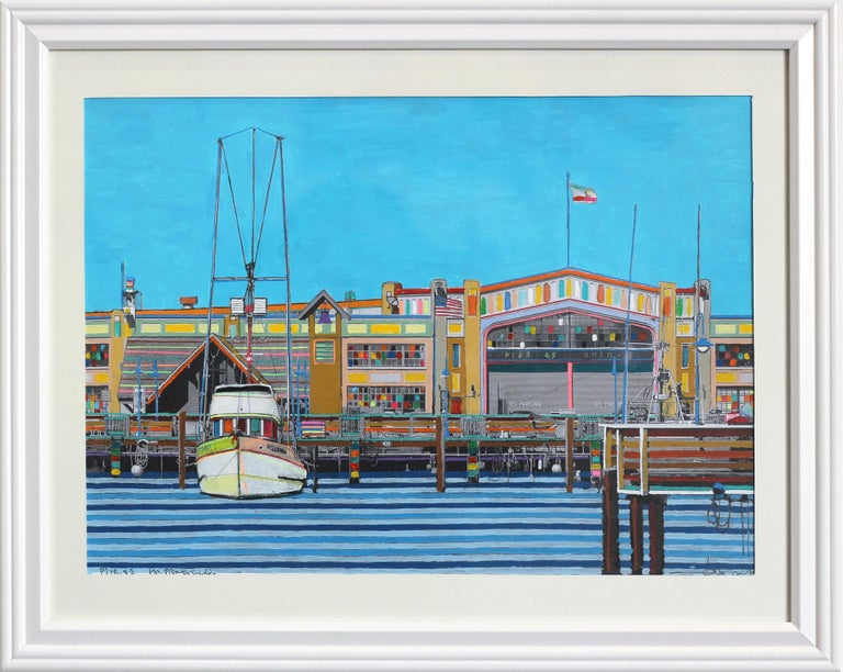 Pier 45 San Francisco - Mixed Media Art by Fabio Coruzzi