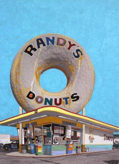 The Giant Donut in Inglewood