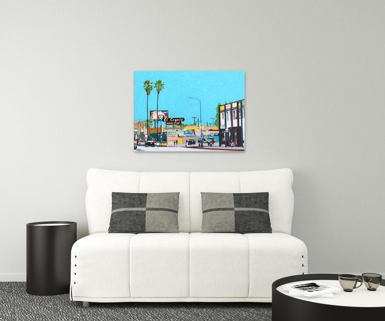 This is Beverly Blvd IV - Painting by Fabio Coruzzi