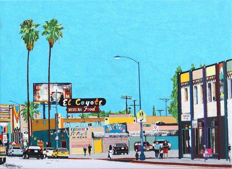 Fabio Coruzzi Figurative Painting - This is Beverly Blvd IV