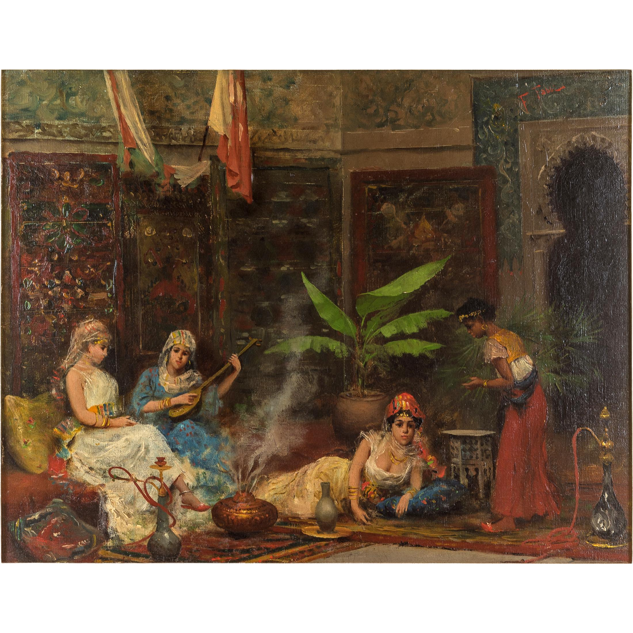 Concubines in the Harem