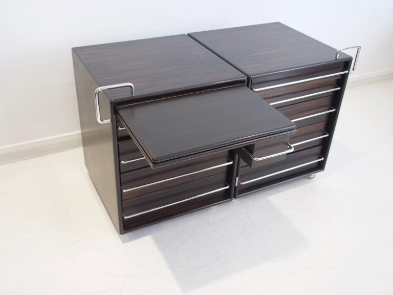 Fabio Lenci for Bernini Chest of Drawers In Good Condition In Madrid, ES