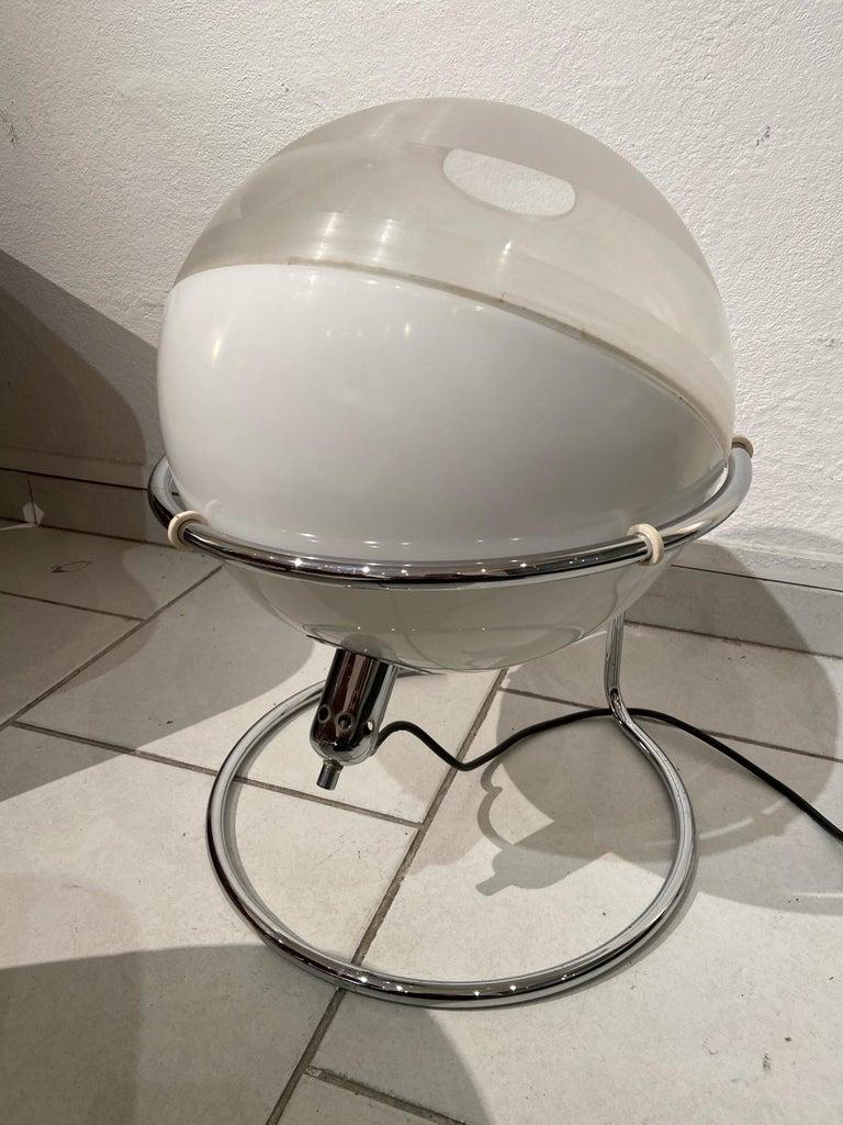 Fabio Lenci, Focus lamp   Harvey Guzzini Edition, circa 1960 Plexus metal and ABS   Measures: 48 x 38 cm.
