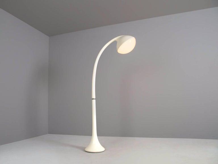 Mid-Century Modern Fabio Lenci 'Lampione' Floor Lamp for Guzzini For Sale