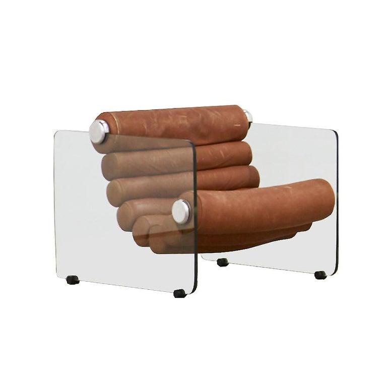 Mid-Century Modern Fabio Lenci Lounge Chair For Sale