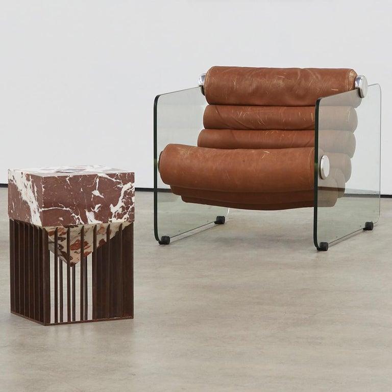 Italian Fabio Lenci Lounge Chair For Sale