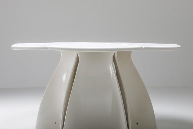Fabio Lenci Postmodern 'Petal' Dining Table, 1960s For Sale 4