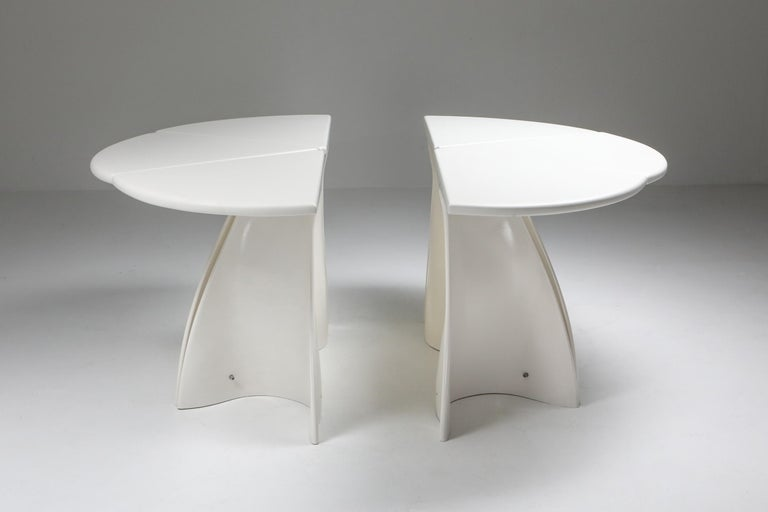 Fabio Lenci Postmodern 'Petal' Dining Table, 1960s In Good Condition For Sale In Antwerp, BE