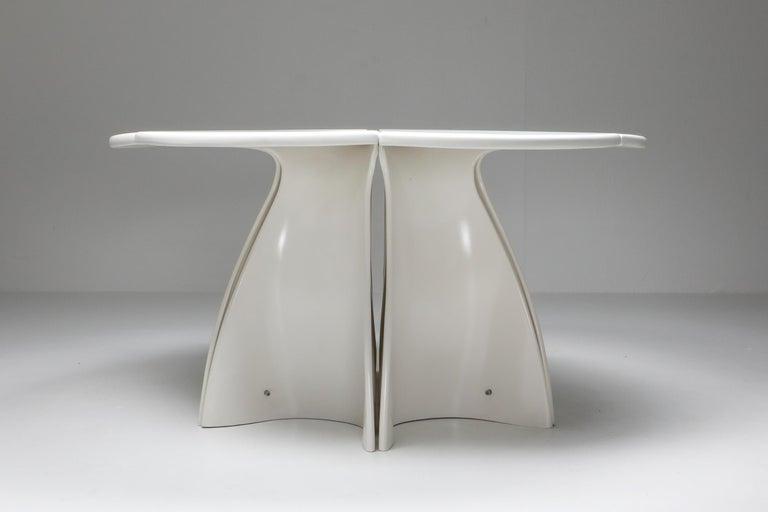 Mid-20th Century Fabio Lenci Postmodern 'Petal' Dining Table, 1960s For Sale