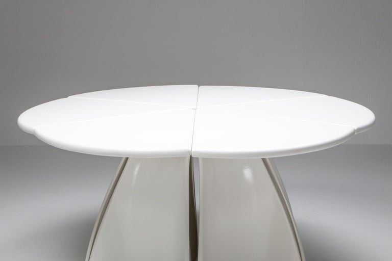 Fabio Lenci Postmodern 'Petal' Dining Table, 1960s For Sale 1