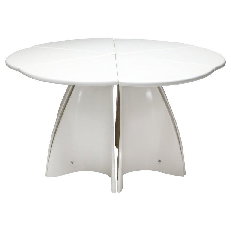 Fabio Lenci Postmodern 'Petal' Dining Table, 1960s For Sale