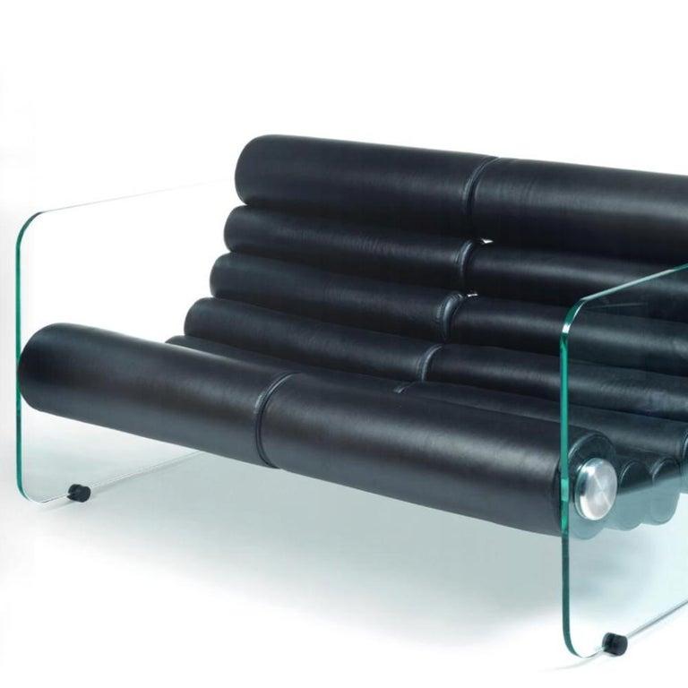 Italian Fabio Lenci Sofa 2-Seat For Sale