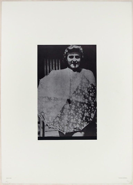 Amano il Bello - Original Screen Print by Fabio Mauri For Sale 1