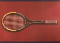 Tennis, Olympic Games Beijing 2008 -Original Lithograph by Fabio Mauri