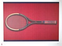 Tennis - Original Screen Print by Fabio Mauri - 2008