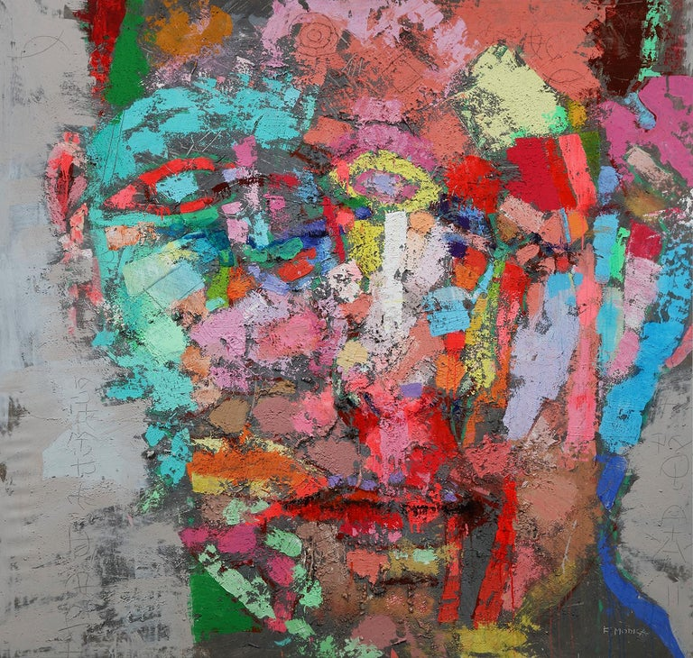 Fabio Modica Abstract Painting - Prisoner of Matter LIV