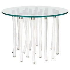 Fabio Novembre Org Console Table Steel Core & White Rope Exterior for Cappellini