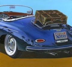 South California Escape  -  original car painting modern realist contemporary