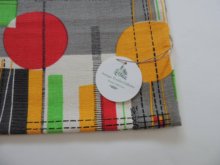 American Fabric by the Yard, Printed Cotton Midcentury