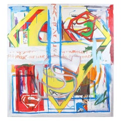Fabrice Dupre Superman Series Painting c. 2004