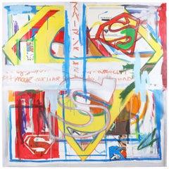 Fabrice Dupre Superman Series Painting