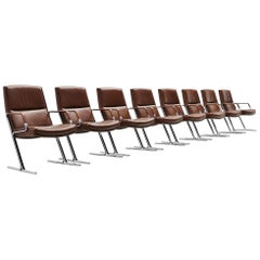 Fabricius Kastholm FK711 Office Chairs Walter Knoll, Germany, 1971