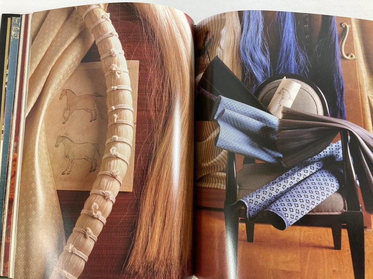 Fabrics The Decorative Art of Textiles Coffee Table Book For Sale 6