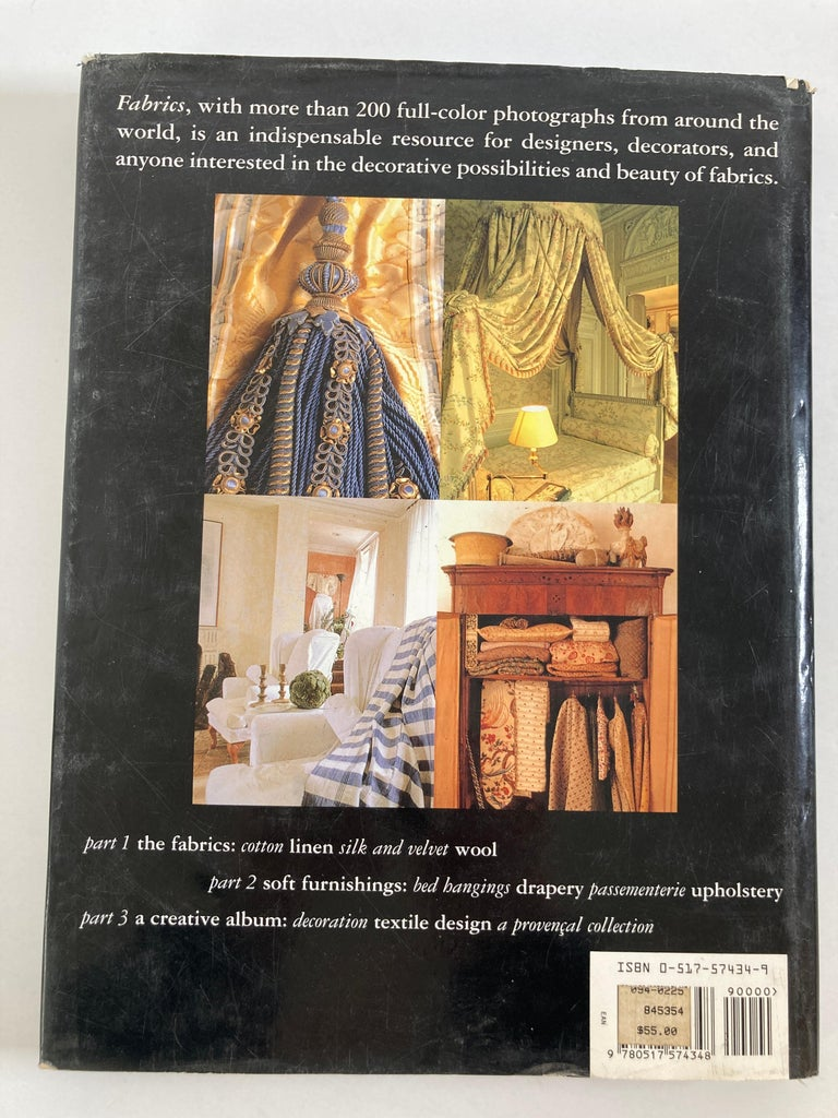 Modern Fabrics The Decorative Art of Textiles Coffee Table Book For Sale