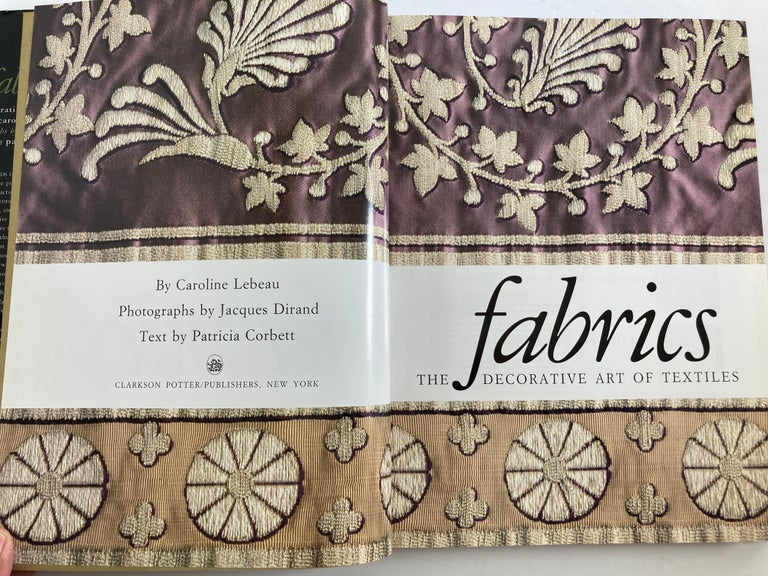 Late 20th Century Fabrics The Decorative Art of Textiles Coffee Table Book For Sale