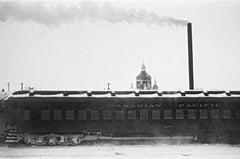 « La ciminiera non è sua », Canada 1955 - Contemporary Black & White Photography