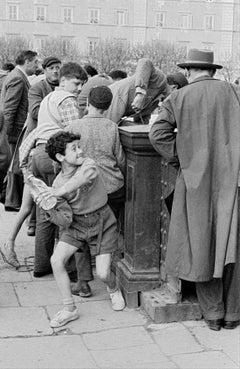Acqua e fantasia, 1956 - Contemporary Photorealist Black & White Photography