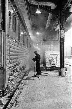 Ancora il vapore, Canada, 1955 - Contemporary Black & White Photography