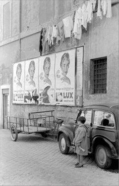 La Sentinella, 1956 - Contemporary Photorealist Black & White Photography