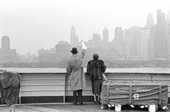 L'Addio, New York, December 1955 - Contemporary Black & White Photography
