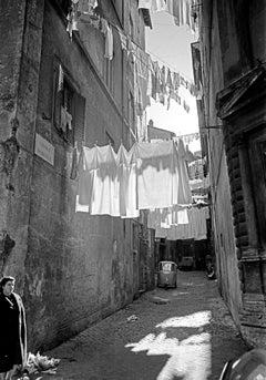 L'Attesa, 1962 - Contemporary Photorealist Black & White Photography