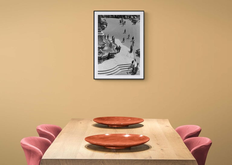 Mezzogiono al Pantheon, 1958  - Roma - Contemporary  Black & White Photography For Sale 2