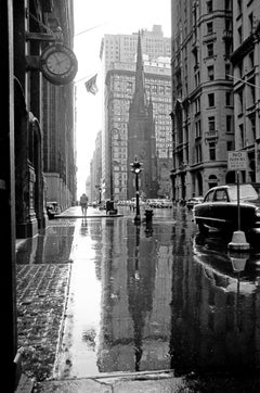 On Broadway, New York, 1955 Framed Edition Contemporary Black & White Photograph