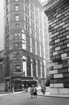 Verticalità, New York, 1955  - Contemporary Black & White Photography
