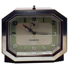 Fabulous 1930s Art Deco Bakelite Clock by Vedette