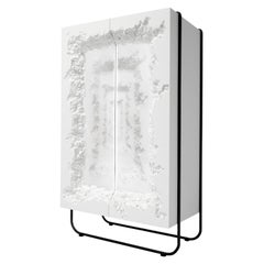 Fabulous Bar Cabinet with Mirror with Hologram Effect, Breakfree Collection