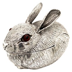 Fabulous Cartier Sterling Bunny Box