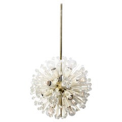Fabulous Emil Stejnar Snowball Orbit Sputnik Chandelier Vintage Austria Rubert N