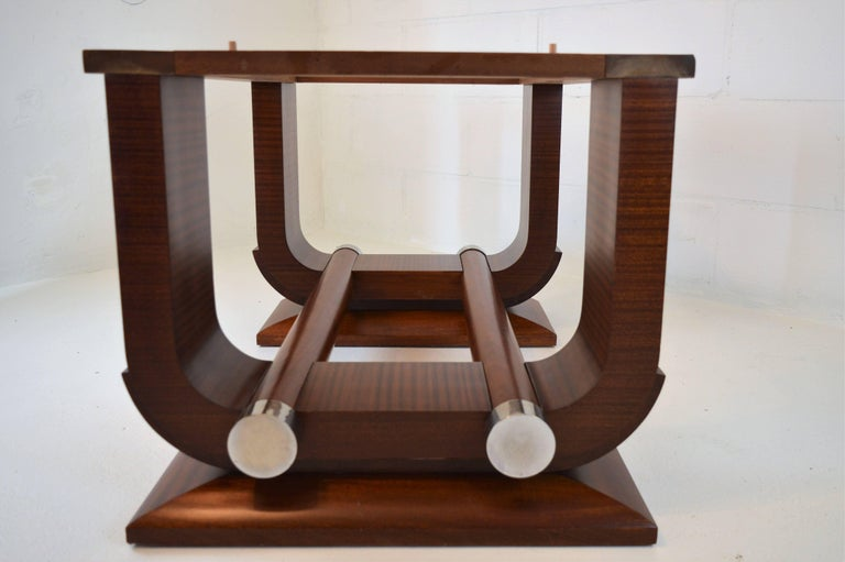 Fabulous Gaston Poisson Art Deco Dining Room Table In
