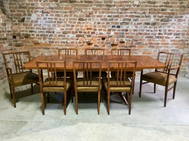 Fabulous Gordon Russell Dining Table And Eight Chairs