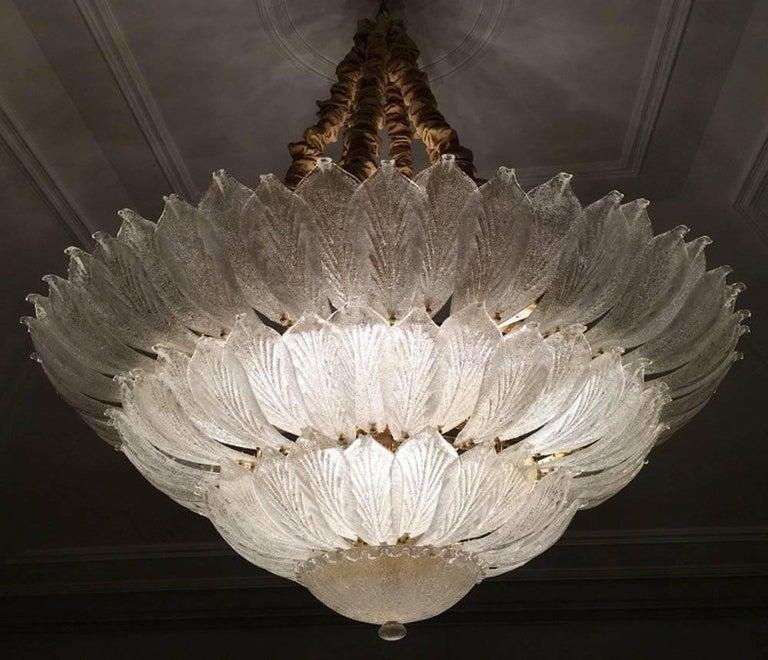 Mid-Century Modern  Fabulous Italian Murano Glass Ceiling Light or Flush Mount For Sale