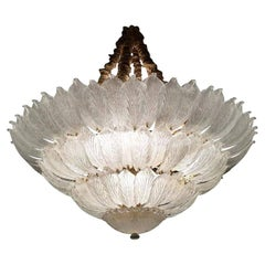 Fabulous Italian Murano Glass Ceiling Light or Flushmount