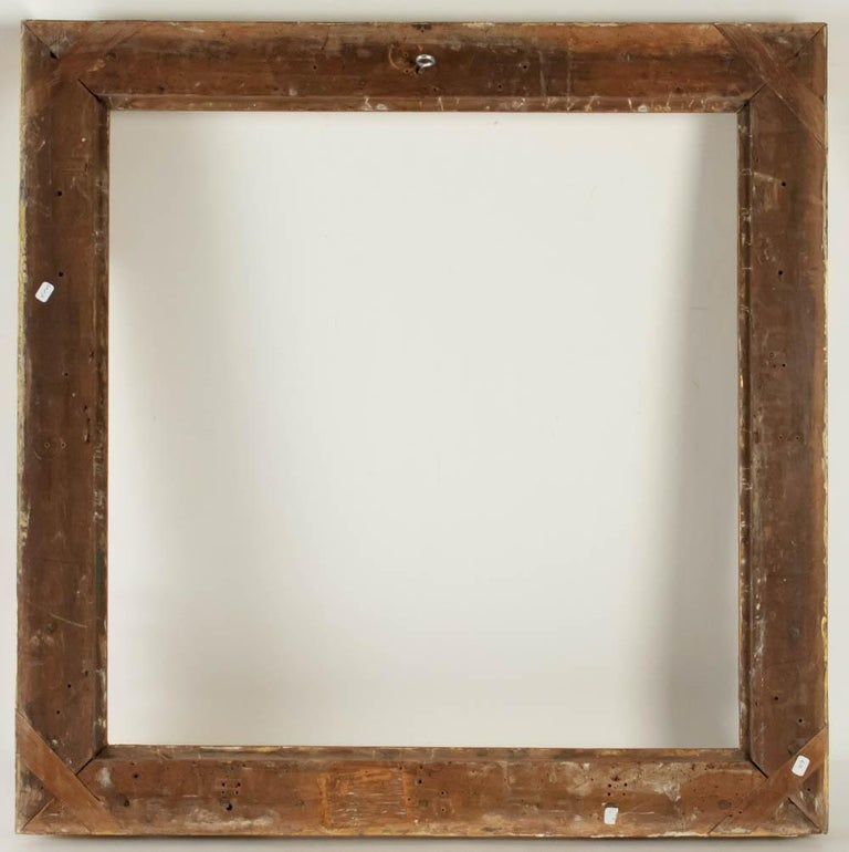 Fabulous Louis XIV Period Frame, Mirror with Flower Corners, France 18th Century For Sale 1