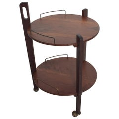 Fabulous Mexican Modern Service Cart Trolley Bar Side Table Eugenio Escudero