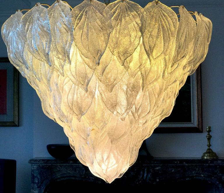 Fabulous Murano Glass Polar Chandelier, 1970s 6